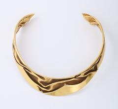 Modernist Articulated Gold Collar - 1534990
