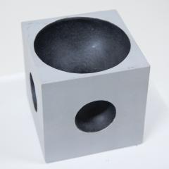 Modernist Cube Sculpture by Artist Lorenzo Burchiellaro - 1224667