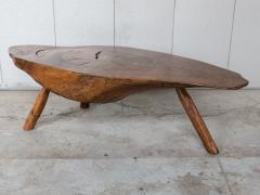 Modernist Live Edge Cocktail Table - 1076767