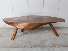 Modernist Live Edge Cocktail Table - 1076769