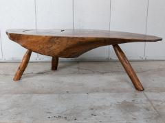 Modernist Live Edge Cocktail Table - 1076770