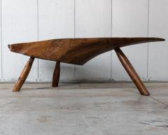 Modernist Live Edge Cocktail Table - 1076771