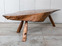Modernist Live Edge Cocktail Table - 1076773