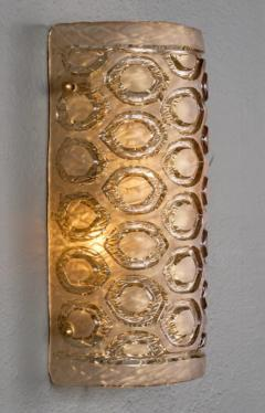 Modernist Murano Glass Stamped Sconces - 632325