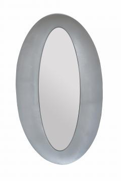 Modernist Oval Mirror by Lorenzo Burchiellaro - 1921670