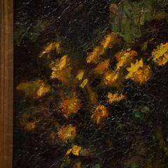 Mogens Christian Vantore Vintage Oil Painting the Artists Wife in the Garden by Mogens Vantore - 1067641