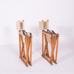 Mogens Koch Pair of Mogens Koch Mk 16 Folding Chairs - 2085317