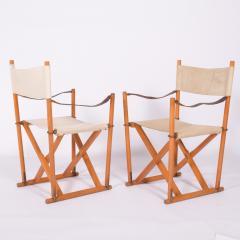 Mogens Koch Pair of Mogens Koch Mk 16 Folding Chairs - 2085318