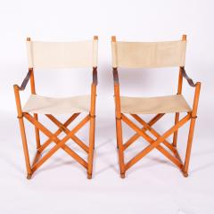 Mogens Koch Pair of Mogens Koch Mk 16 Folding Chairs - 2085320