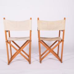 Mogens Koch Pair of Mogens Koch Mk 16 Folding Chairs - 2085321