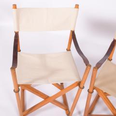 Mogens Koch Pair of Mogens Koch Mk 16 Folding Chairs - 2085324