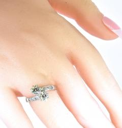 Moi et Toi Diamond and Platinum Ring - 1201300