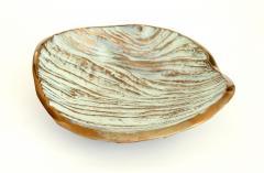 Monique Gerber Bronze Dish Designed by Serge Mansau for Monique Gerber Stratos Collection - 1309713