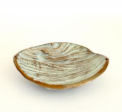 Monique Gerber Bronze Dish Designed by Serge Mansau for Monique Gerber Stratos Collection - 1309717
