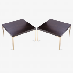 Montage Astor Brass Occasional Tables in Walnut Pair - 318629