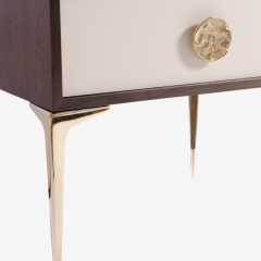 Montage Colette Nightstands in Ebony Ivory by Montage - 301537