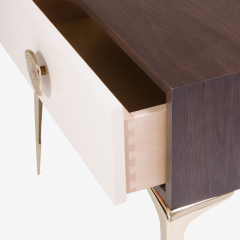 Montage Colette Nightstands in Ebony Ivory by Montage - 301540