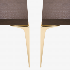 Montage Colette Occasional Tables Walnut in Ebony by Montage - 301597