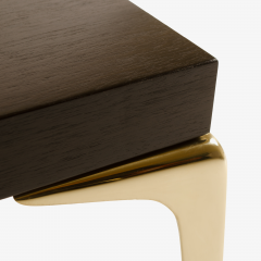 Montage Colette Occasional Tables Walnut in Ebony by Montage - 301598