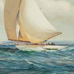 Montague Dawson Montague Dawson Racing Six Metre yachts - 2109660