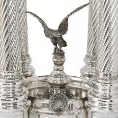 Monumental Belle Epoque style solid silver fountain - 1683217