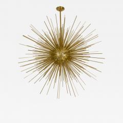 Monumental Brass Sputnik Chandelier - 69563