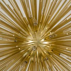 Monumental Brass Sputnik Chandelier - 69565