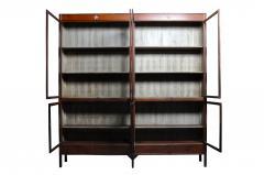 Monumental British Colonial Teak Wood Bookcase - 1653595