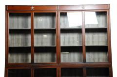 Monumental British Colonial Teak Wood Bookcase - 1653598