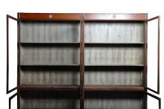 Monumental British Colonial Teak Wood Bookcase - 1653610