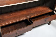 Monumental British Colonial Teak Wood Bookcase - 1653612