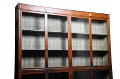 Monumental British Colonial Teak Wood Bookcase - 1653613