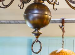 Monumental Bronze Two Tier Chandelier with Twelve Arms - 1776434