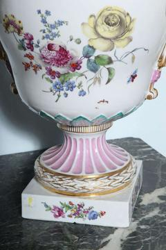 Monumental KPM Covered Urn Late 18th Century Germany - 348644