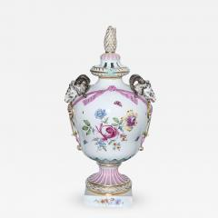 Monumental KPM Covered Urn Late 18th Century Germany - 349321