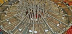Monumental Midcentury Art Deco Style Ballroom Chandelier with Provenance - 1713349