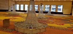 Monumental Midcentury Art Deco Style Ballroom Chandelier with Provenance - 1713353