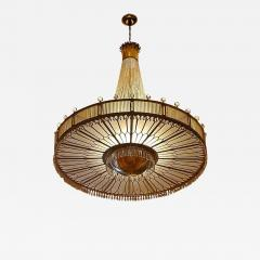 Monumental Midcentury Art Deco Style Ballroom Chandelier with Provenance - 1718234