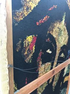 Monumental Midcentury Wool Tapestry after Georges Rouault - 1421362