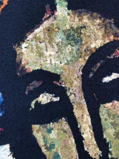 Monumental Midcentury Wool Tapestry after Georges Rouault - 1421363