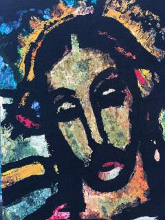 Monumental Midcentury Wool Tapestry after Georges Rouault - 1421369