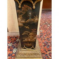 Monumental Pair of French Gilt Bronze and Chinoiserie Painted Torcheres - 2138083