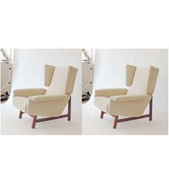Monumental Pair of Italian 1960s Lounge Chairs - 1952094