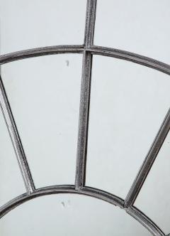 Monumental Round Gilt Cast Iron Mirror - 2023784