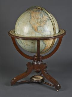Monumental Scottish Globe on Stand - 623544
