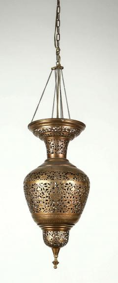 Moorish Brass Hanging Light Fixture - 338472