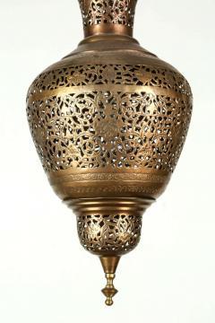 Moorish Brass Hanging Light Fixture - 338473
