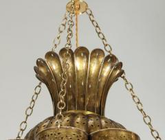 Moorish Moroccan Brass Chandelier - 339104
