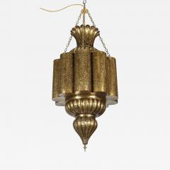 Moorish Moroccan Brass Chandelier - 339954