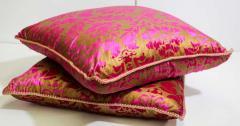 Moorish Oversized Pink and Gold Floor Pillow Cushion - 1829910